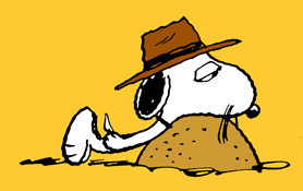 Peanuts Ground Dog Day