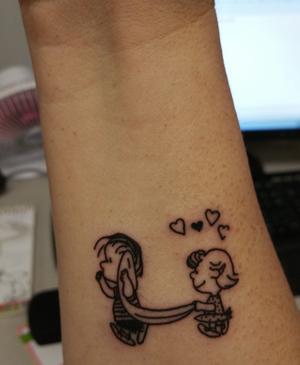 The Peanuts Tattoo Page
